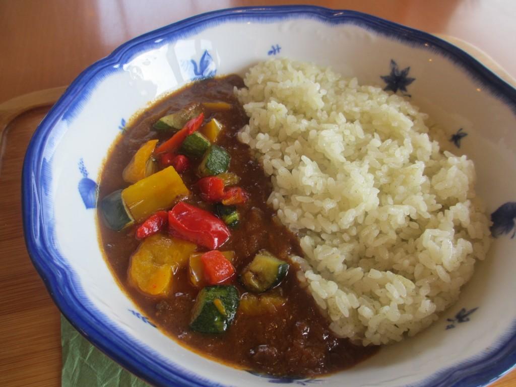 グリル野菜カレー